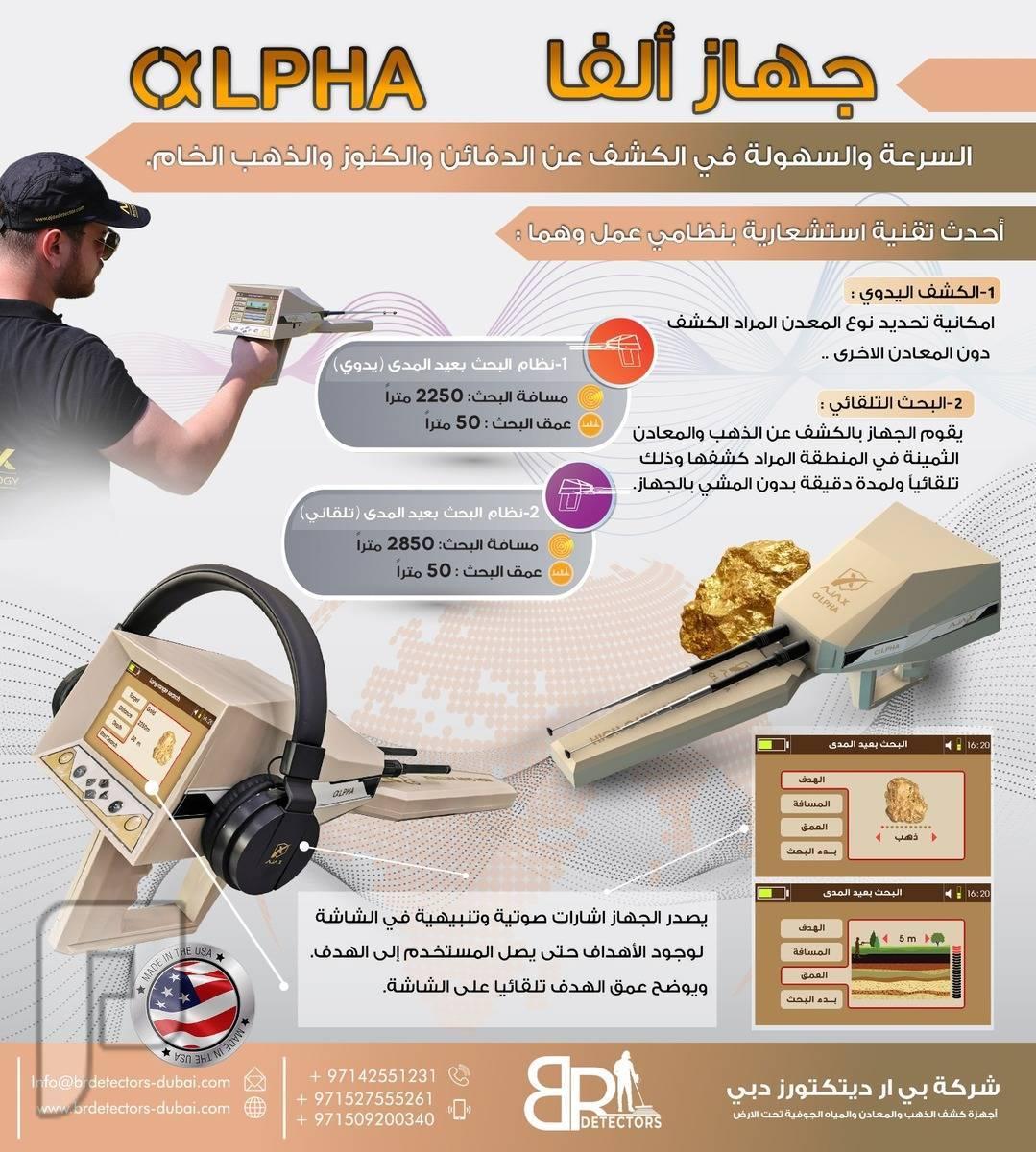 اقوى اجهزة كشف الذهب الفا اجاكس ALPHA AJAX اقوى اجهزة كشف الذهب الفا اجاكس ALPHA AJAX