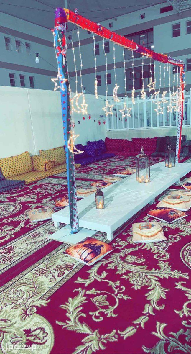 تاجير جلسات شعبيه وجلسات رمضانية