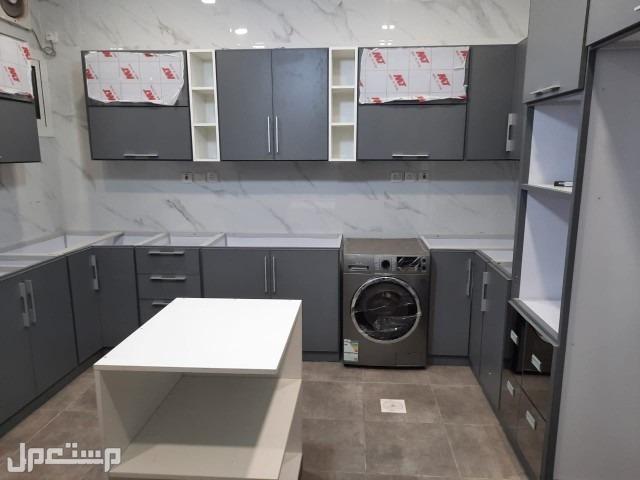 تفصيل وصيانة متر المطبخ الالمينوم بدون رخام 500ريال المتر طولي