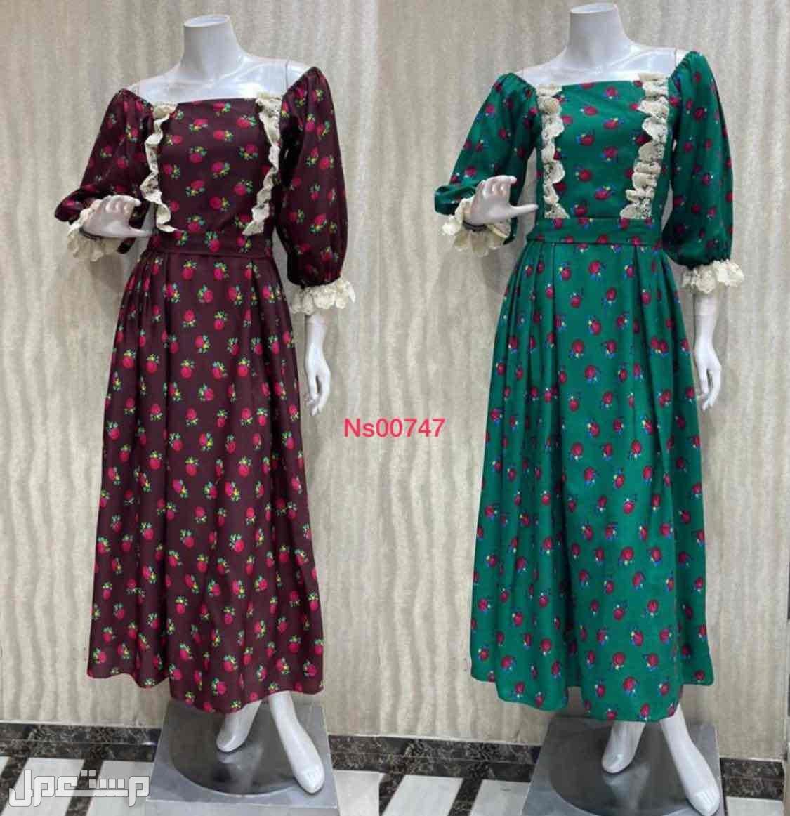 فستان جلابيه رمضانيه نسائي التفصيل حسب الطلب
