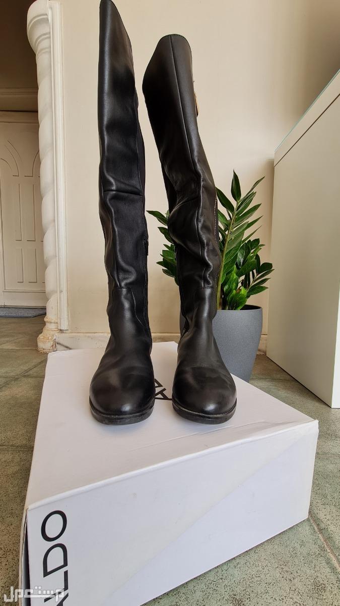 حذاء طويل بوت نسائي ماركة ألدو