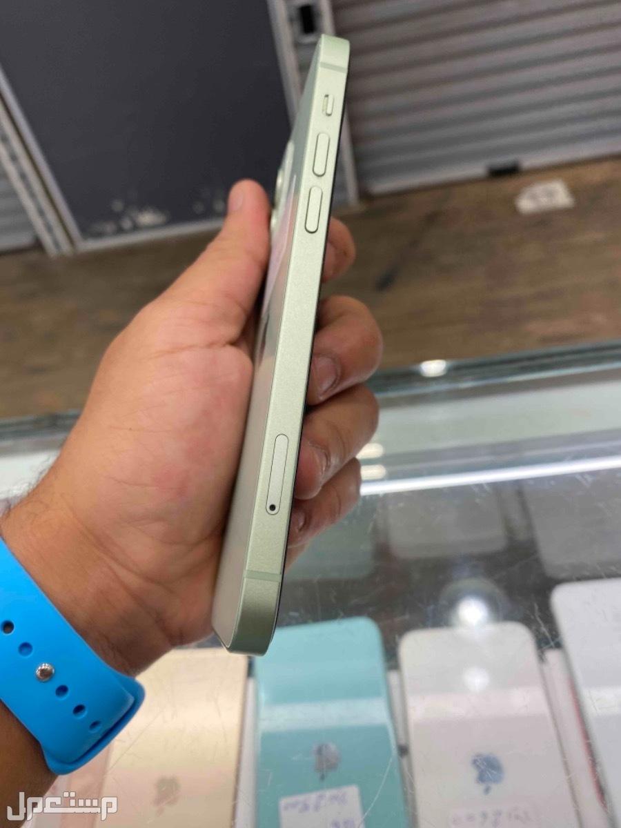 للبيع ايفون 12 اخضر تيفاني 64مستخدم