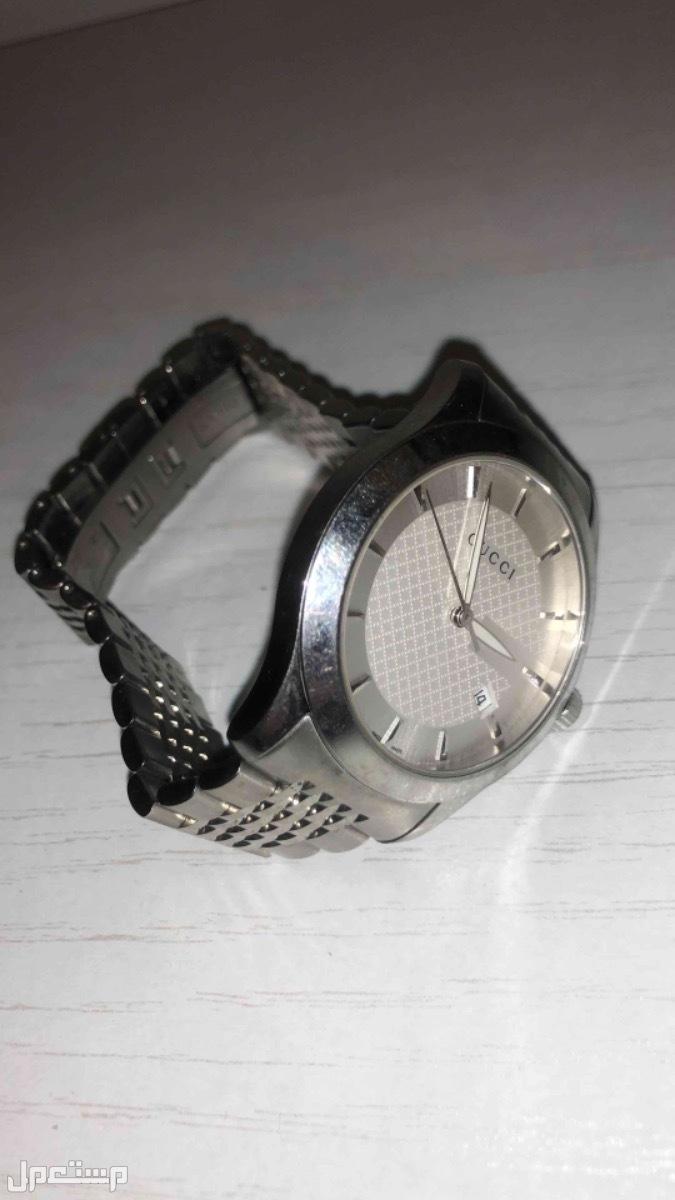 ساعة يد ماركة gucci قوتشي اصليه صناعه سويسريه