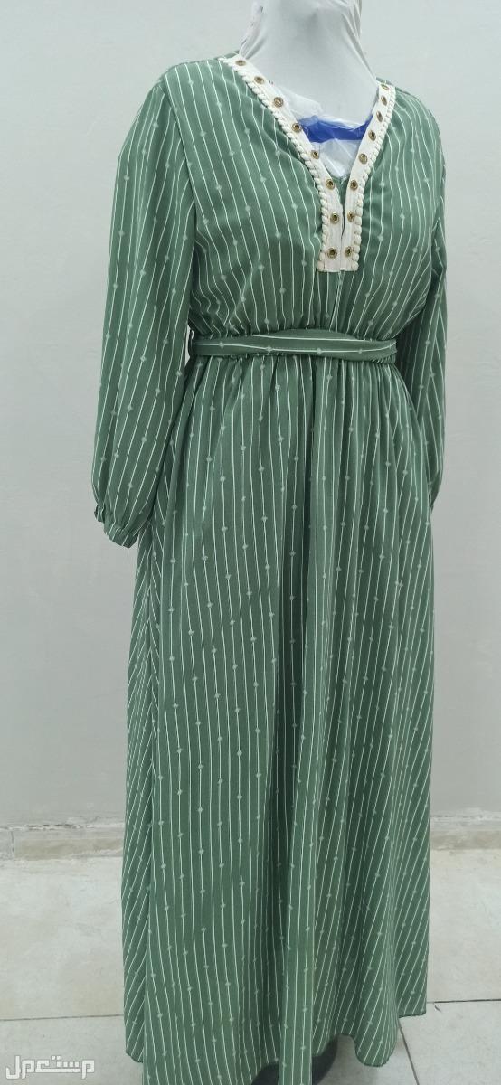 فستان باكمام طويله