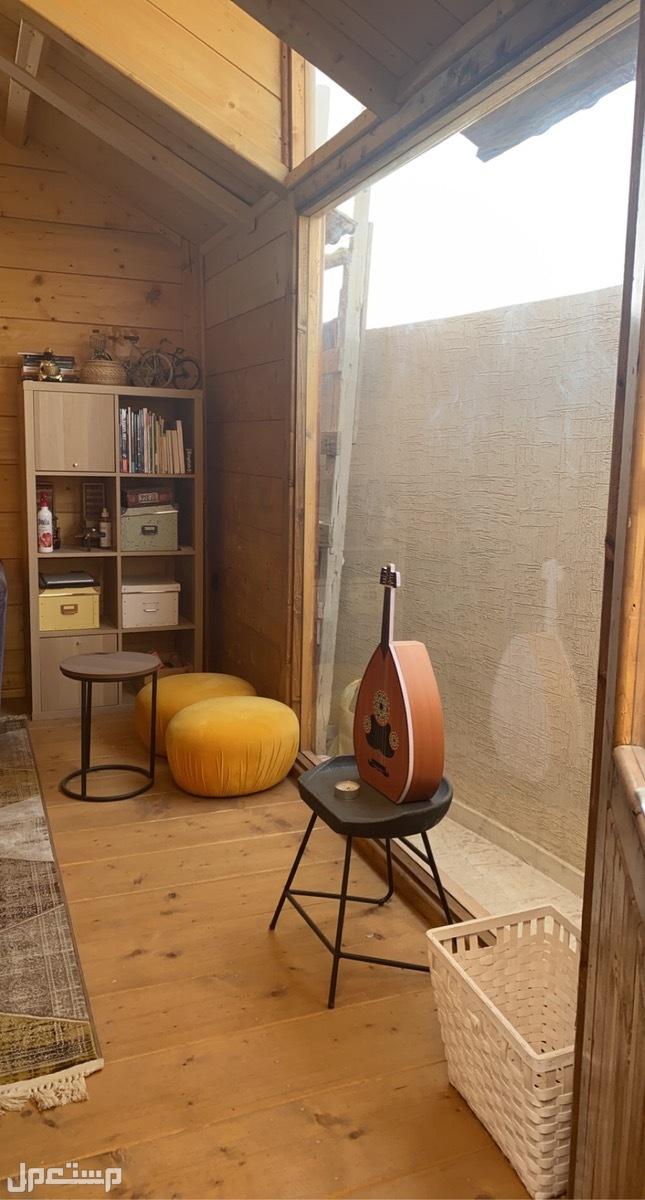 كوخ خشبي *جديد بتصميم ريفي اوروبي