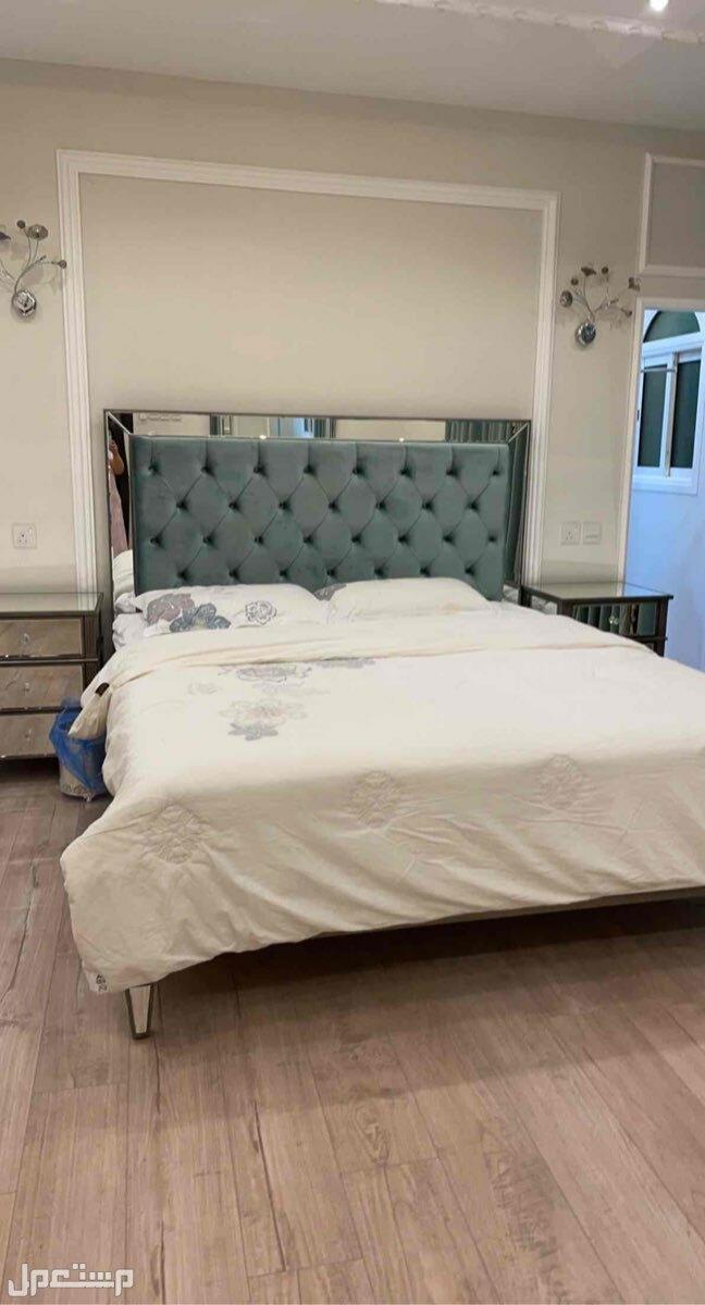 الرياض- الشفاء سرير نفرين ومرتبه هاي سليب خلفية السرير مخمل مطعج