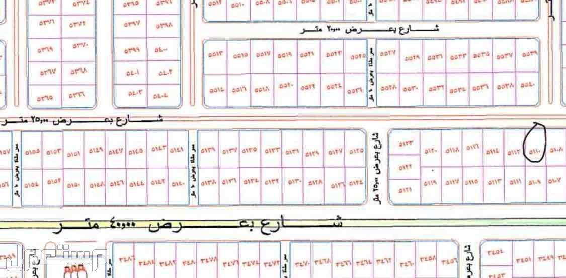 قطعة ارض للبيع في مخطط الدعاجين في سامودة الطايف