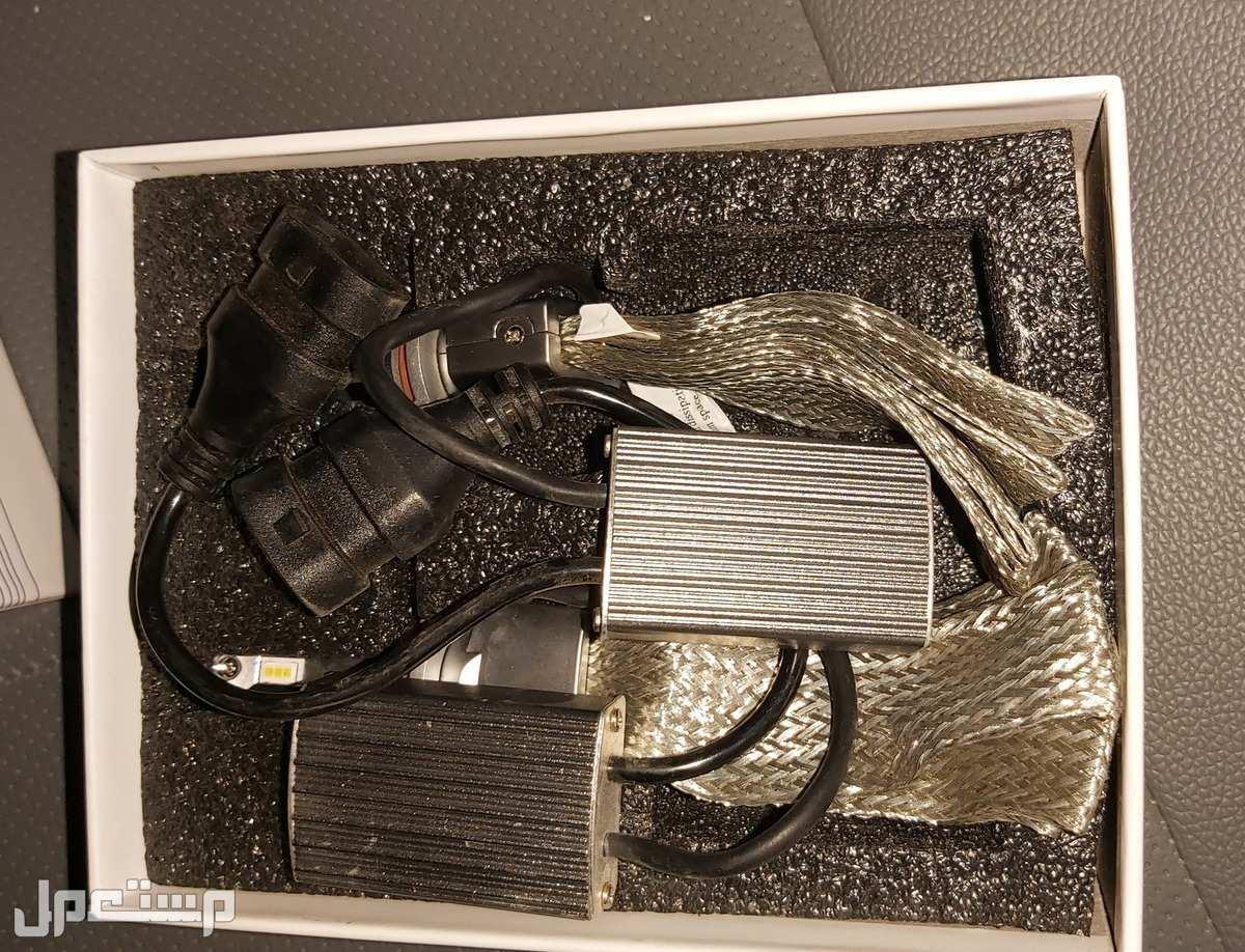 طقم لمبات سيارة ليد LED امامية