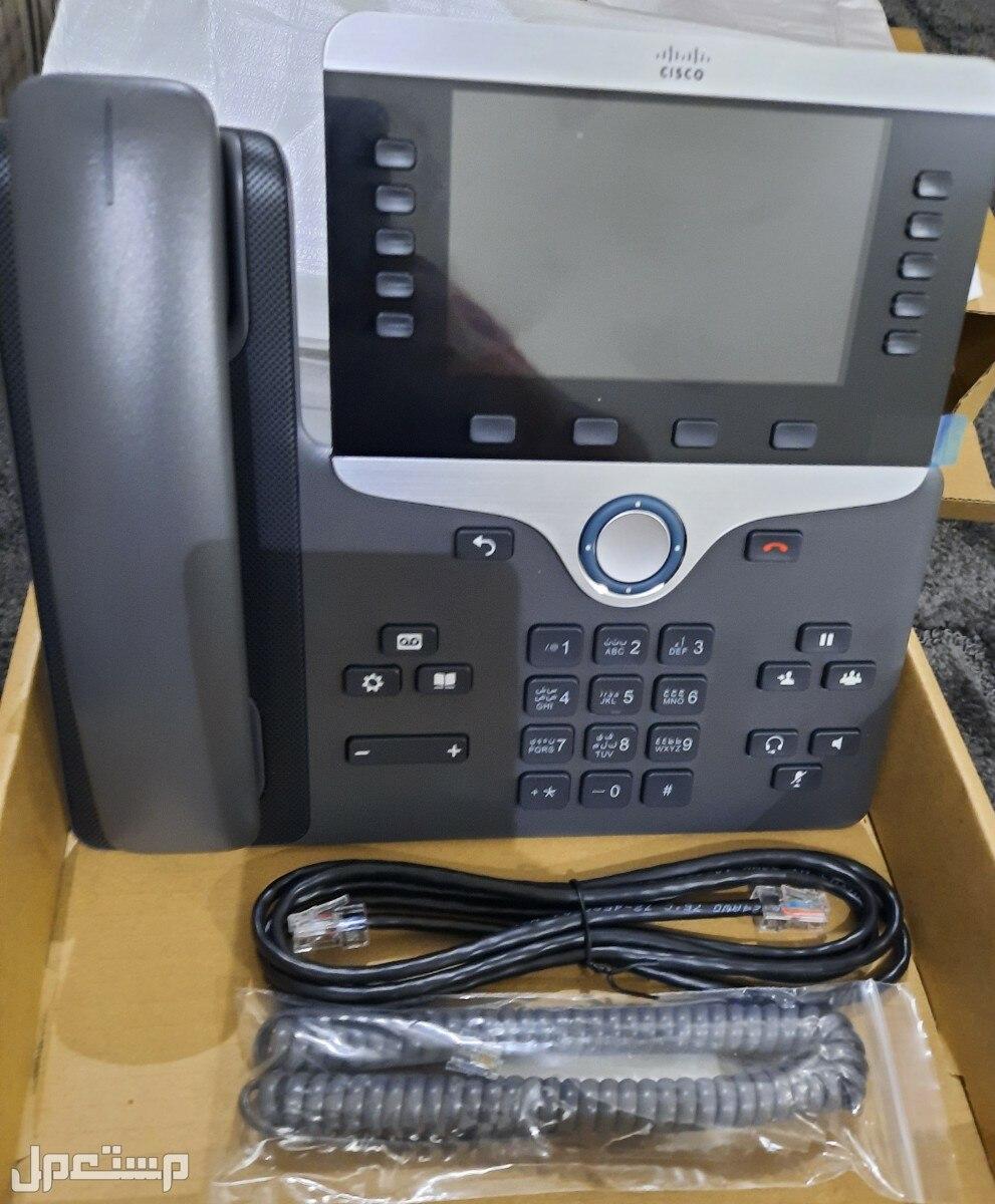 هاتف ثابت ارضي موديل  (CP- 8851) من شركة (Cisco ® IP Phone)