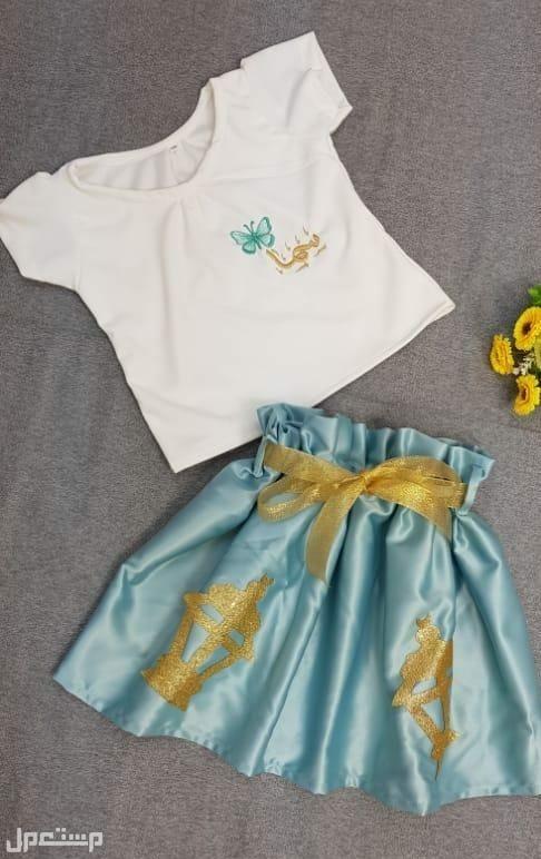 ملابس العيد # بلوزه بناتي مع تطريز الاسم حسب الطلب توصيل لجميع المدن