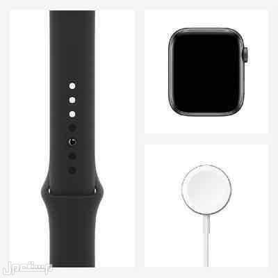 Apple Watch Series 4, Space Gray Aluminum, Black Sport Band ,