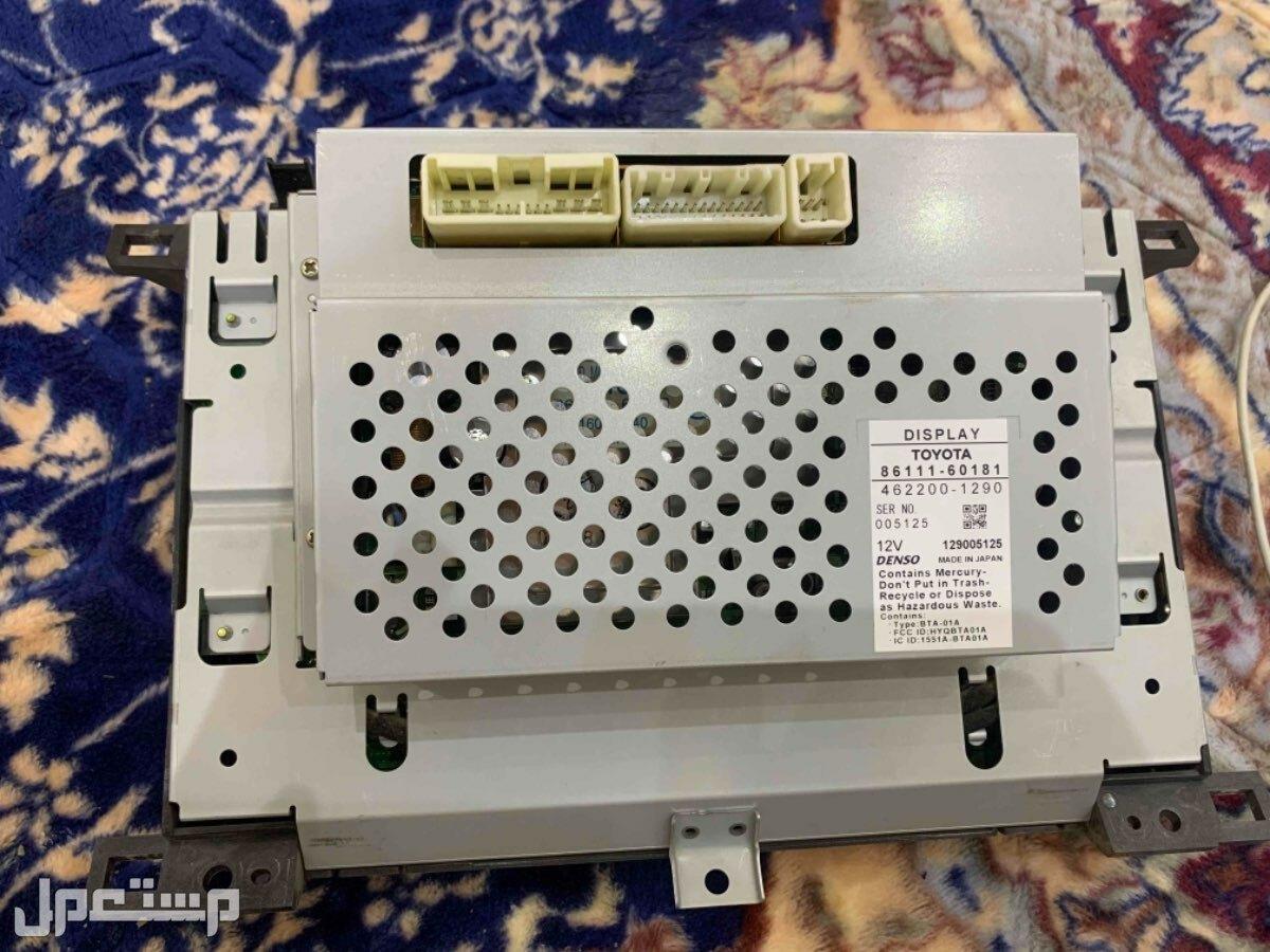 شاشة وكالة لكزس 470 من موديل 2003 الى 2007