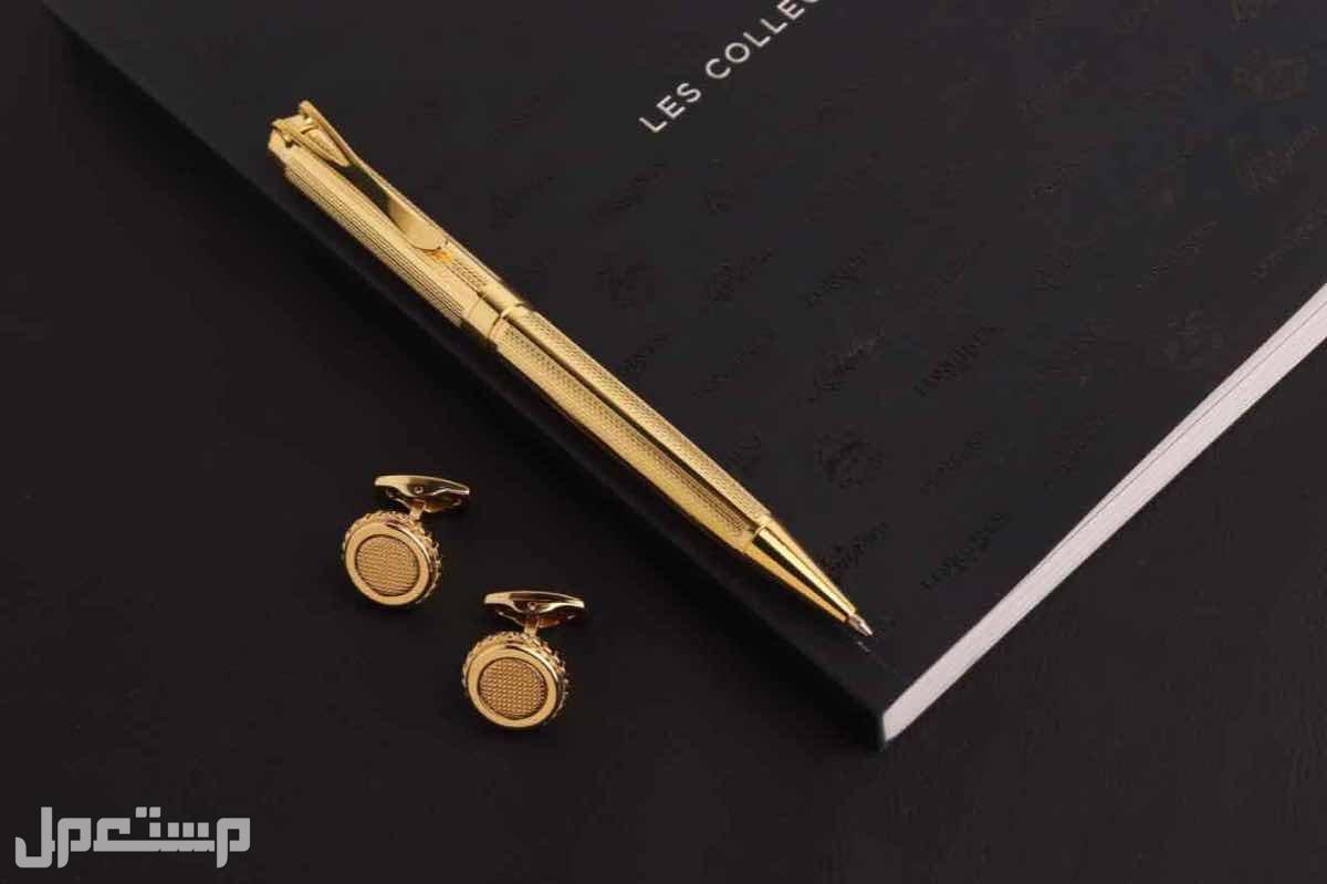 طقم رجالي ساعه قلم كبك