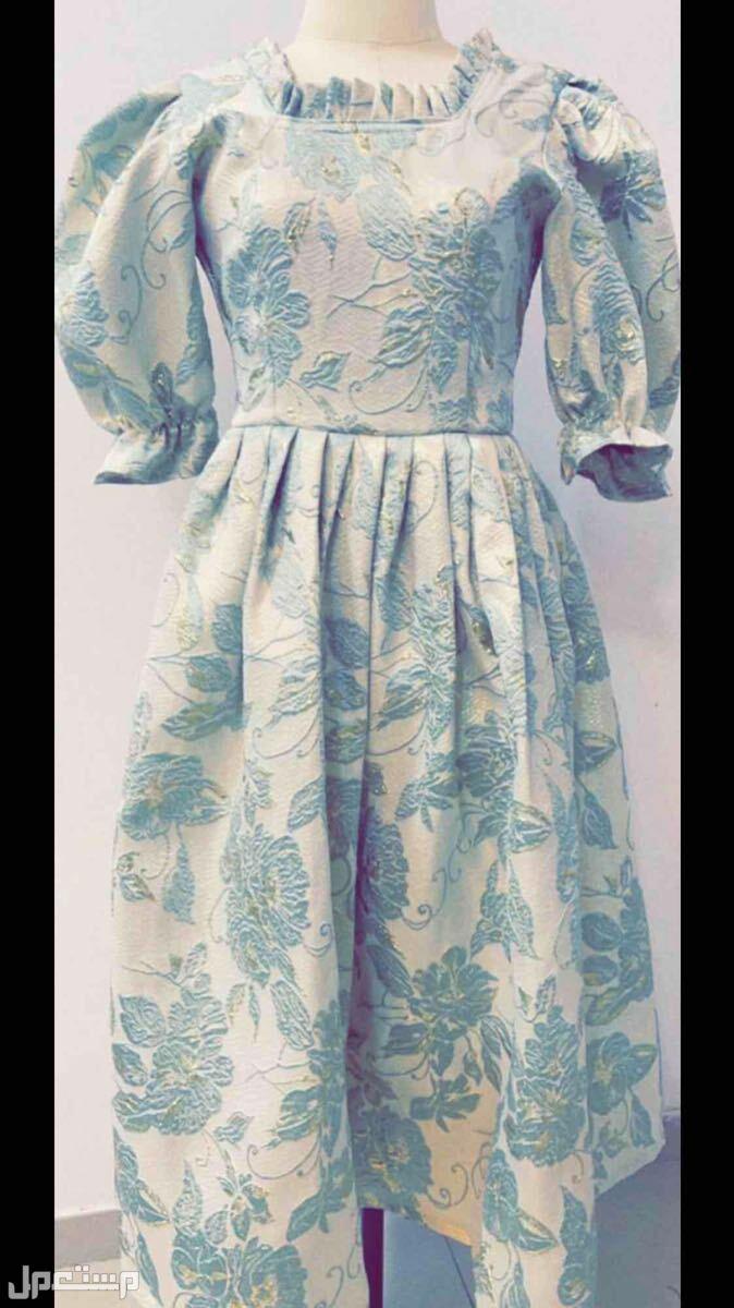 فستان طفله 12 سنه بقماش فخم