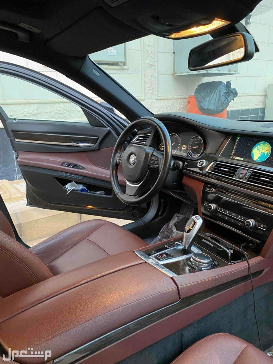 بي ام دبليو الفئة السابعة 2015 للبيع