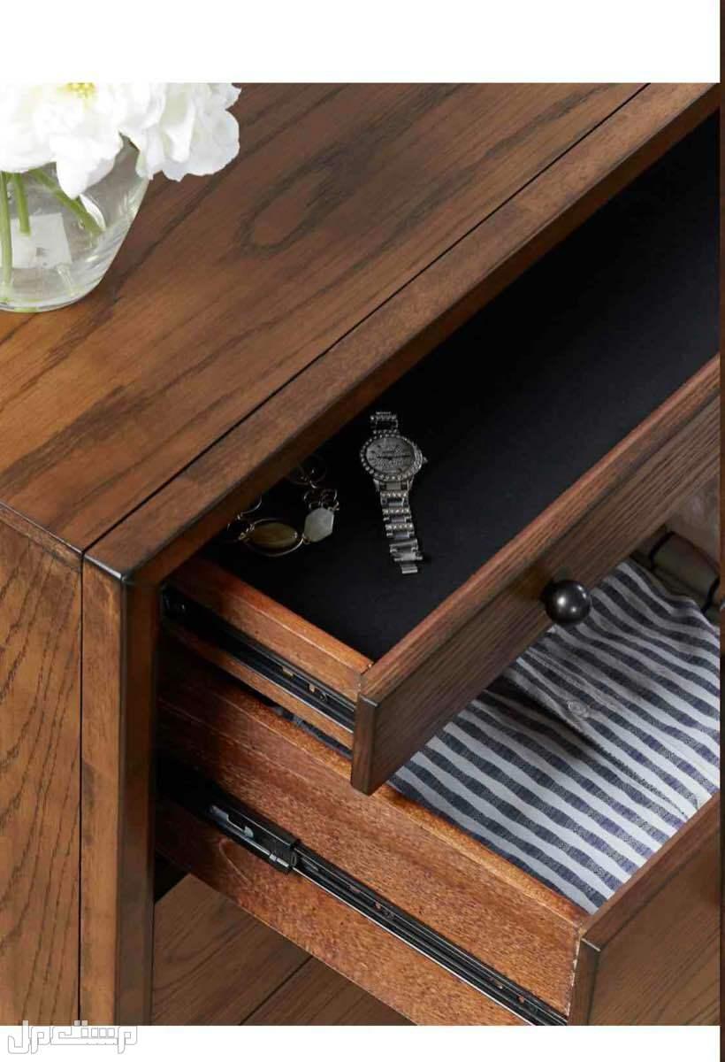وحدة تخزين 6 أدراج + طاولة جانبية 3 أدراج + تسريحة من هوم سنتر جديد