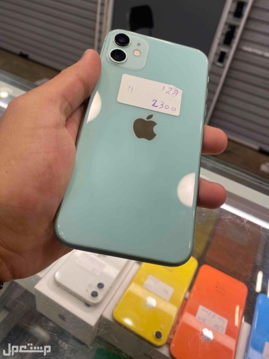 للبيع ايفون 11 اخضر 128 مستخدم