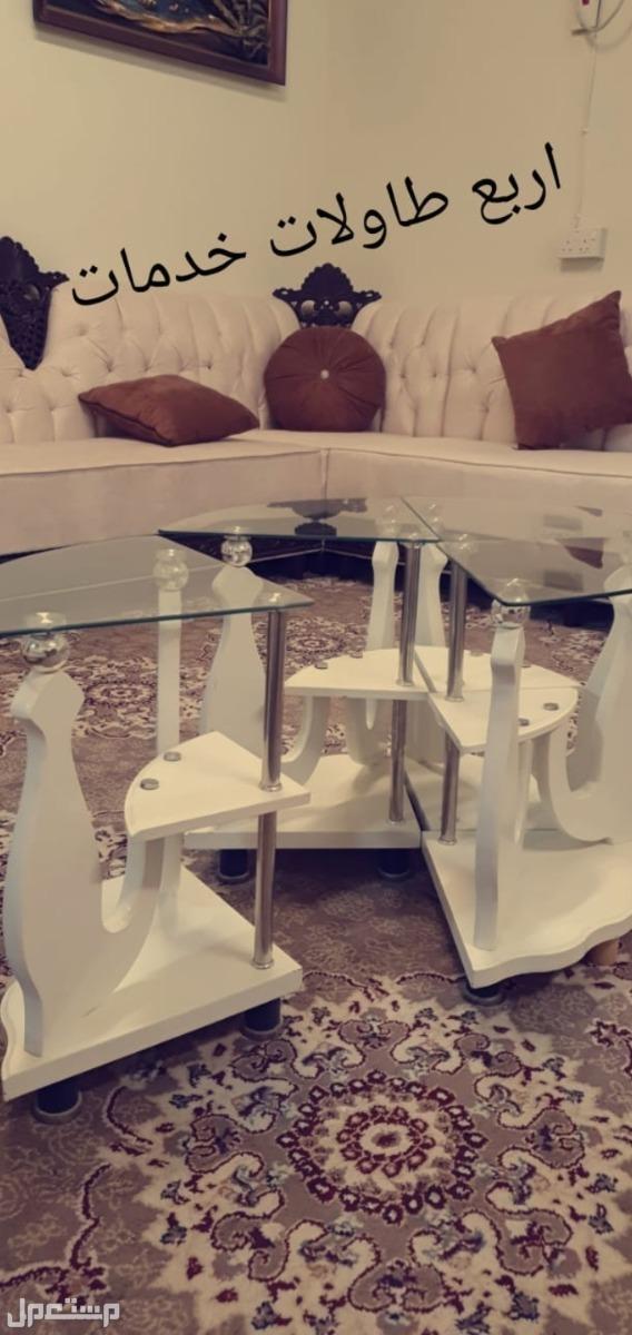 كرسي مساج  طاولة طعام 6 كراسي طاولات خدمات