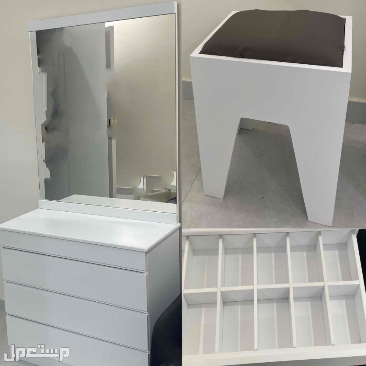 طقم غرفه نوم شبه جديده - مستعمله (شهر ونص)