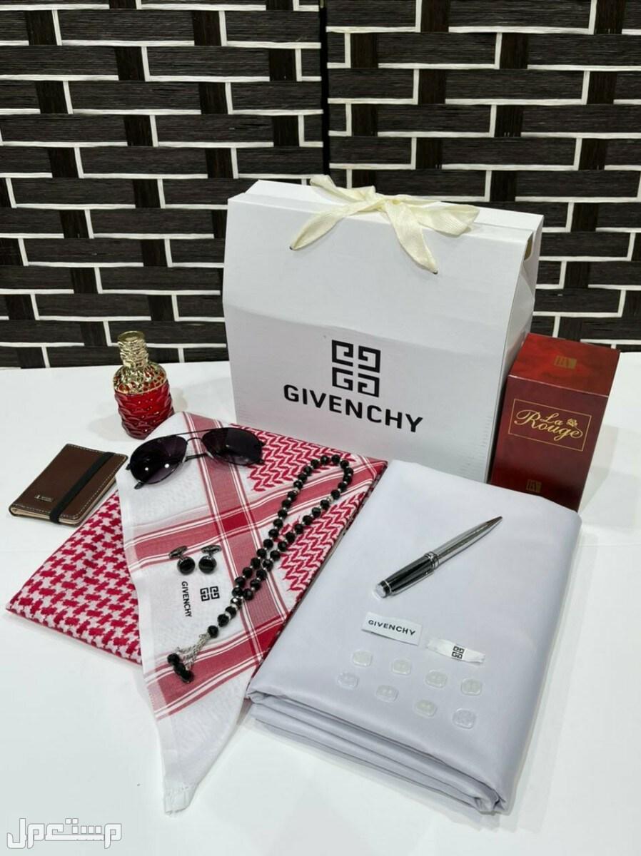 هدايا العيد # قماش شماغ جيفنشي مع هدايا مميزة