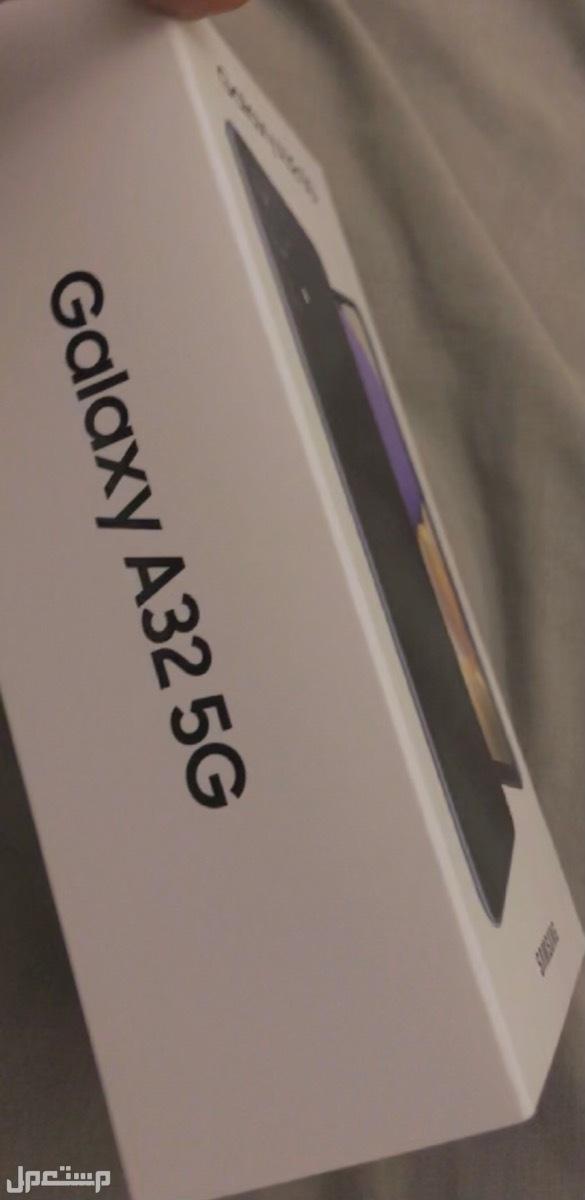 جوال سامسونج جالكسي A32 G5 للبيع جديد في كرتونه