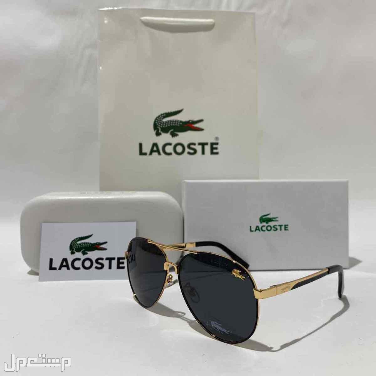 نظارات ماركات مختلفه مونت بلانك لاكوست راي بان  كارتير