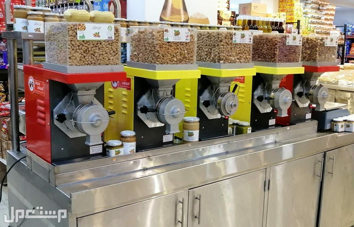 ماكينة صنع زبدة الفول السوداني وزبدة المكسرات الطبيعية