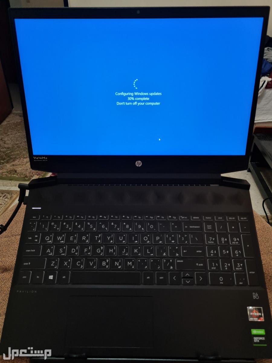 HP Pavilion gaming laptop اتش بي لابتوب العاب