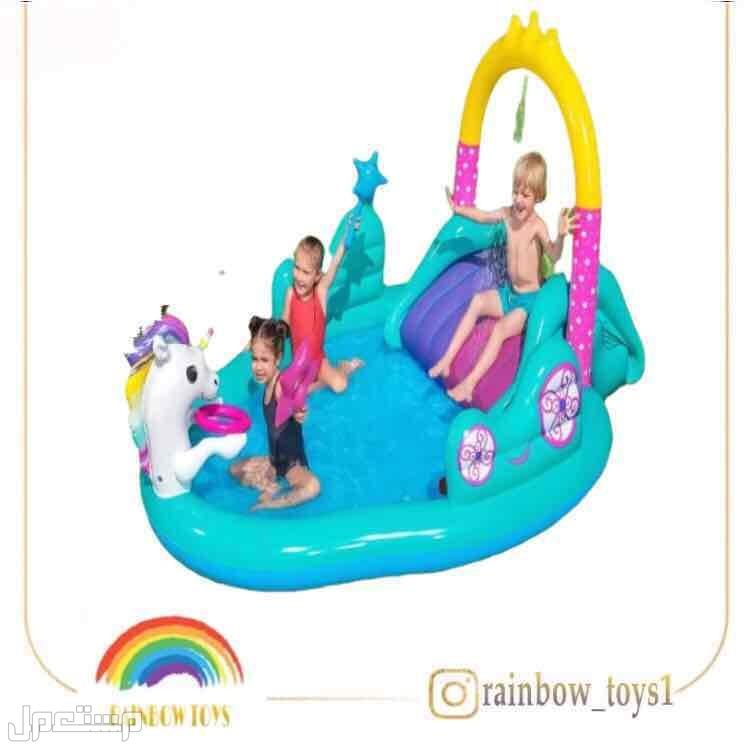 العاب مائية متعة الأطفال في فصل الصيف 😍