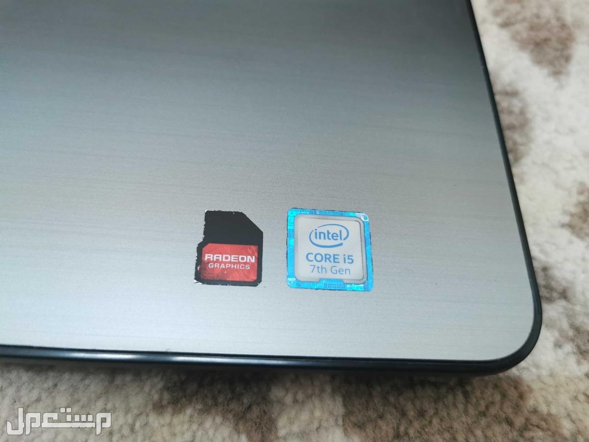 لاب توب DELL i5 الجيل السابع كرتين شاشة وندز10 اصلي SSD-HDD للبيع