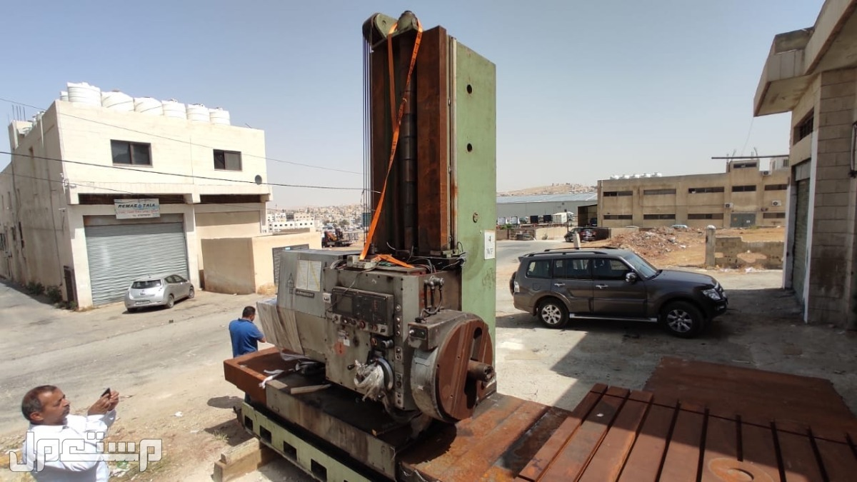 الأردن ، عمان .. ماكينة boring machine