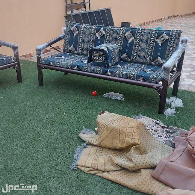 كراسي حديد جلسات خارجية مركاز كويتي توصيل مجاني داخل مكه وجده والطائف