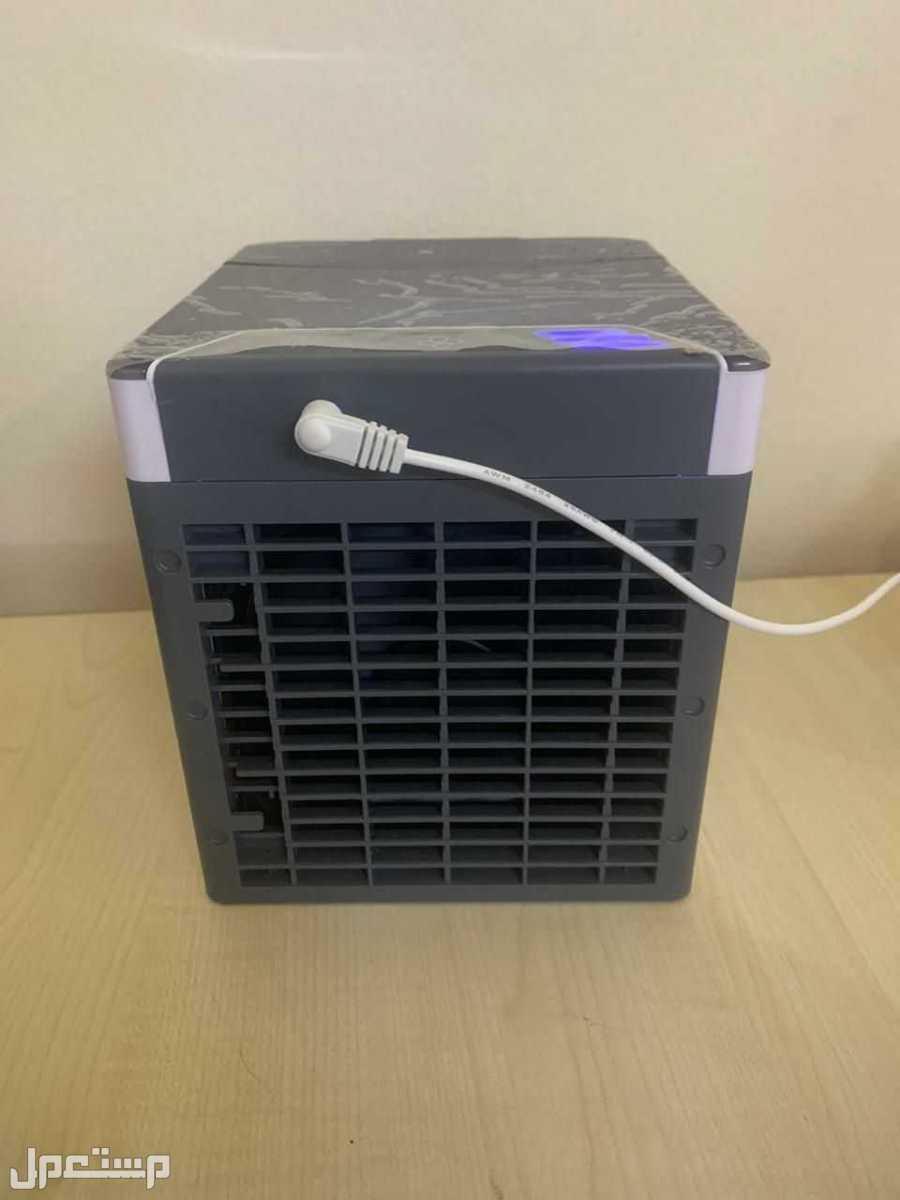 مكيف صحراوي صغير بخاصية البخار يعمل بالكهرباء خلال وصلة USB