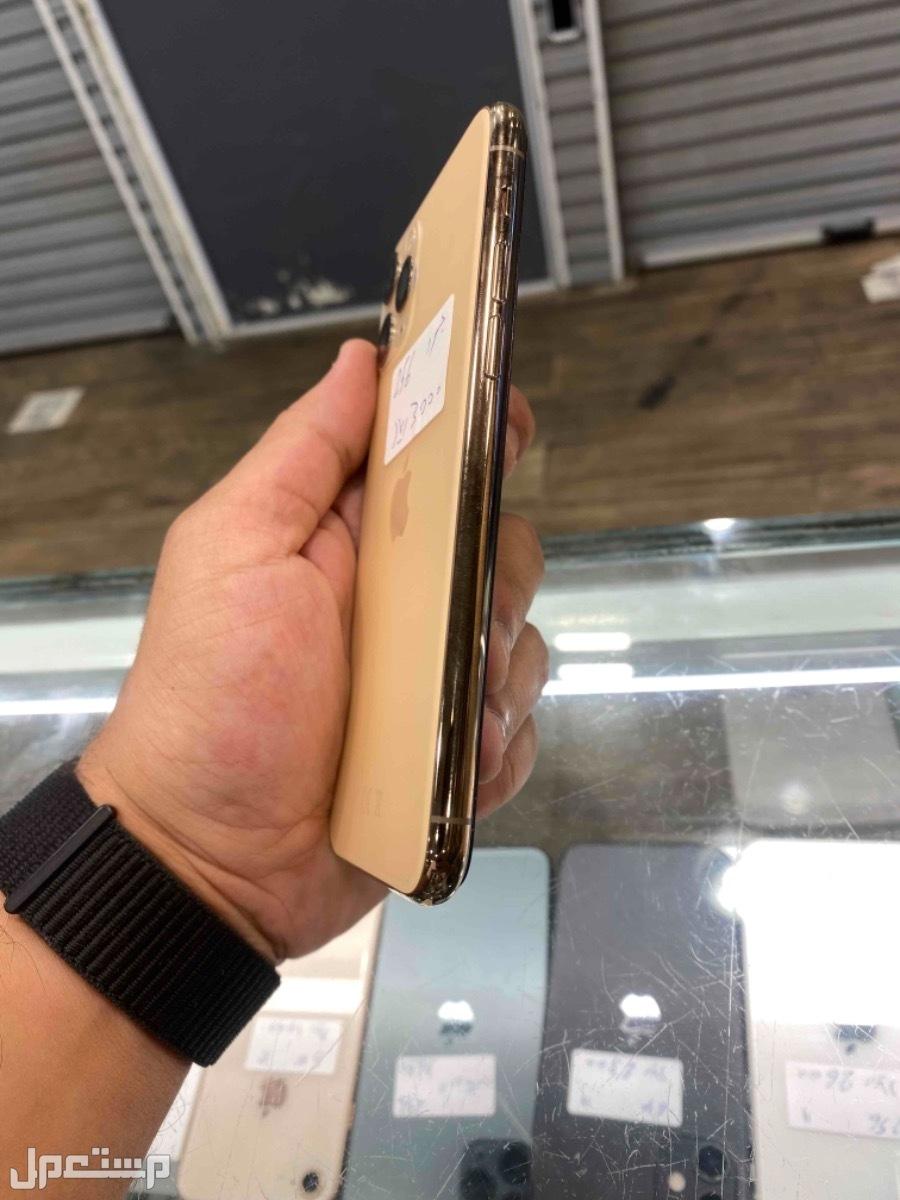 للبيع ايفون 11 برو ذهبي 256 مستخدم
