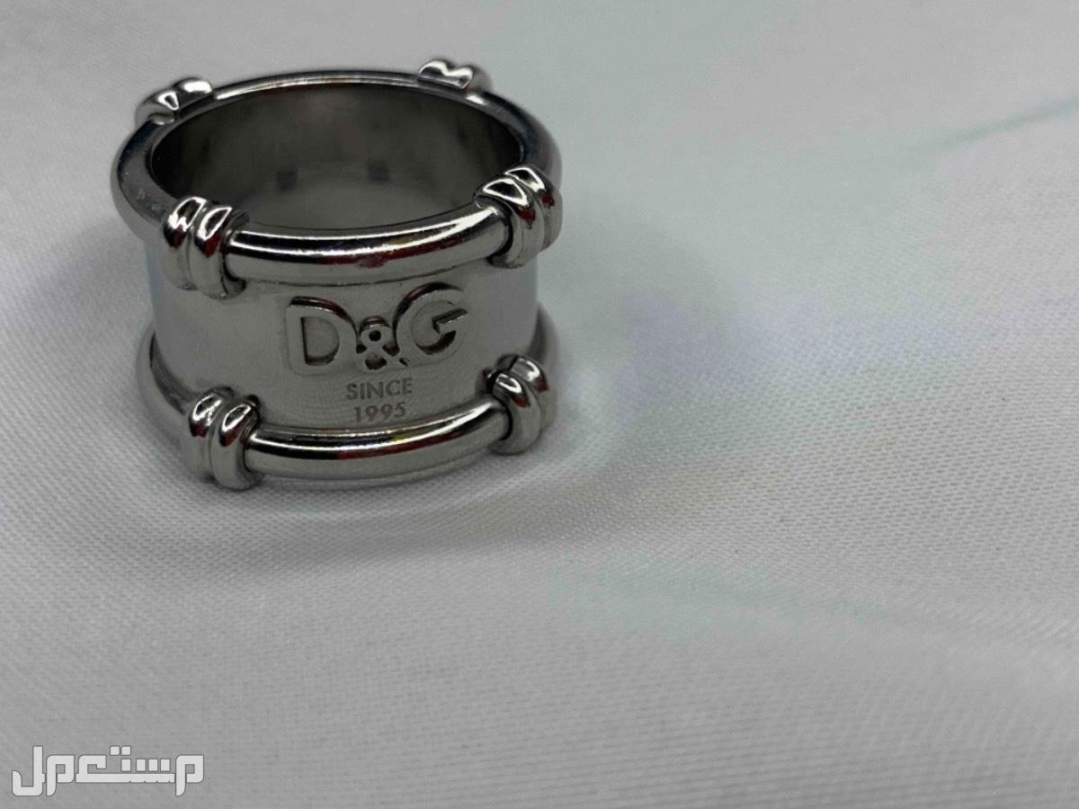 خاتم نسائي مستعمل ماركة (D&G)