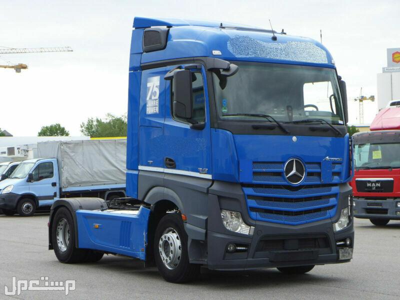 شاحنة مرسيدس 1842 Mb4  موديل 2013 موجودة في جدة بسعر مناسب جدا