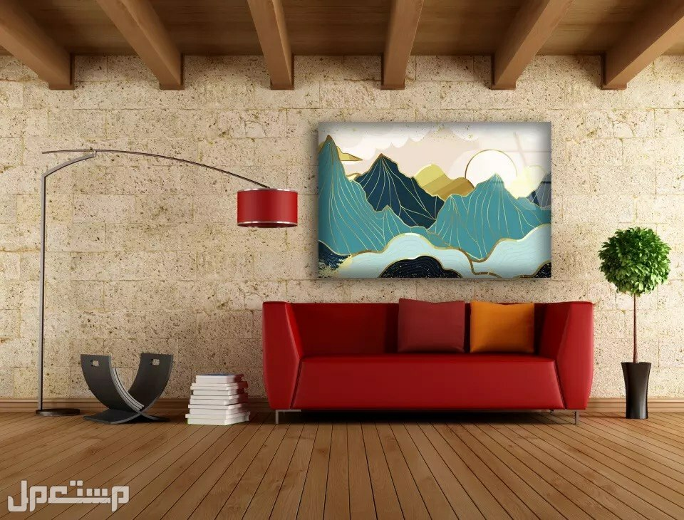 لوحات جدارية كانفس
