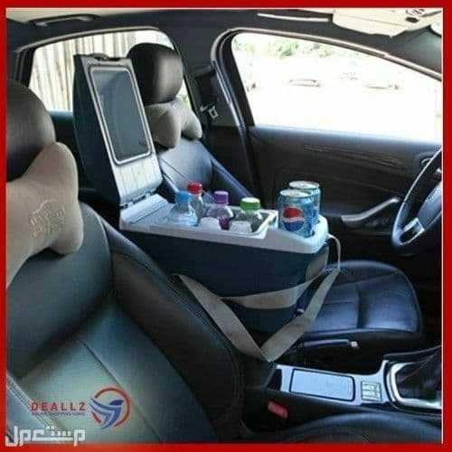 ثلاجة السيارة لتبريد وحفظ الاطعمة باحجام مختلفة