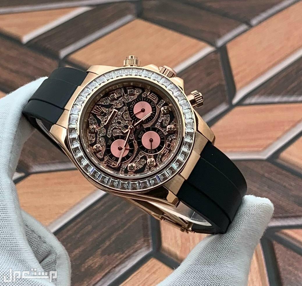 ساعة رولكس موديل ديتونا الملكي # توصيل لجميع المدن