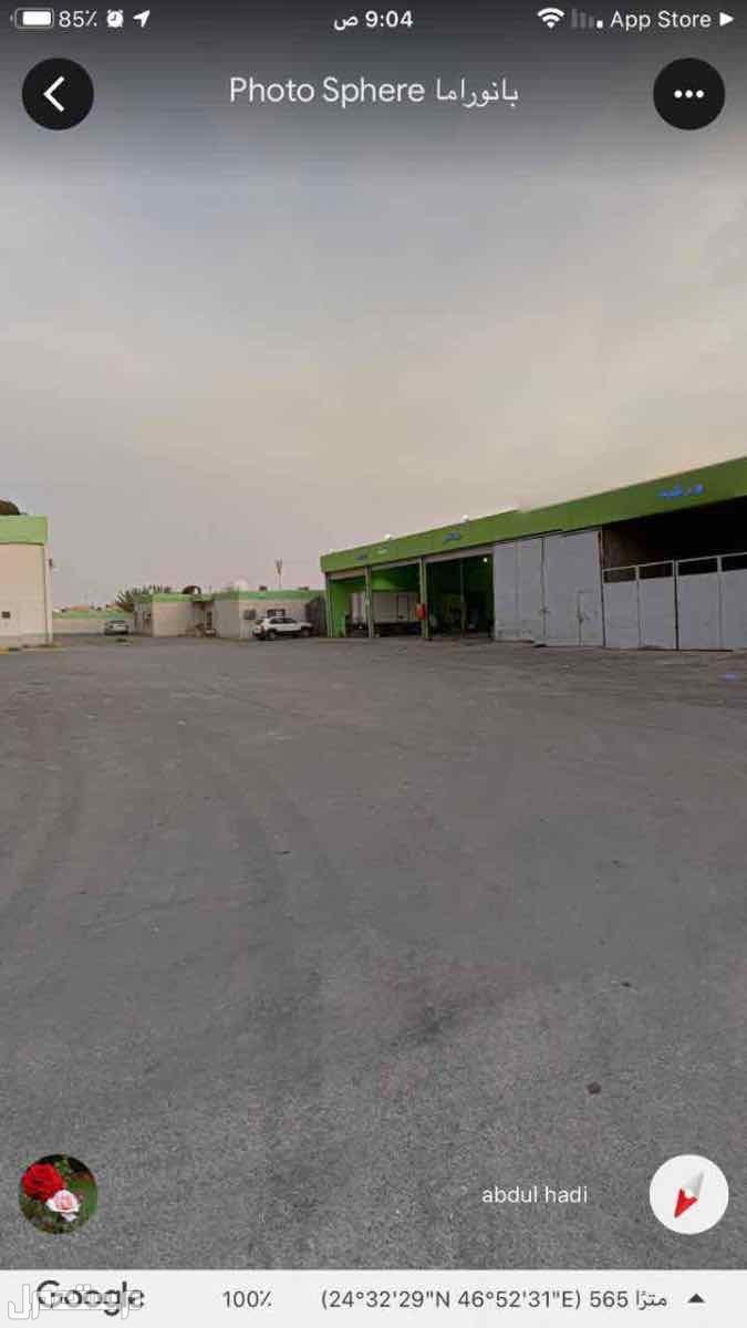 محطه وقود للبيع بطريق الخرج م 1000 متر (الرياض)
