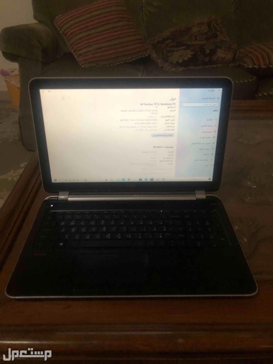 لاب توب HP Pavillion  toch screen 15 notebook