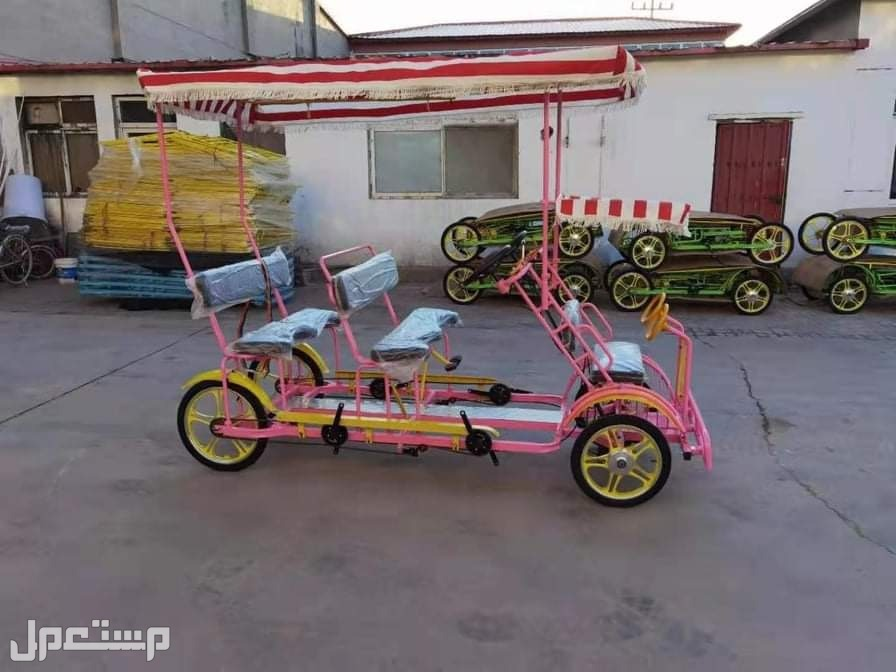 دراجات وشكلت أربع كفرات