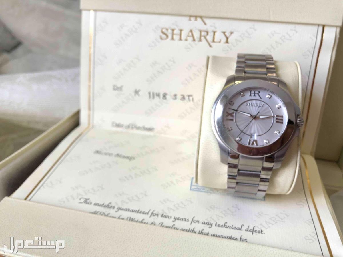 ساعة رجالية ألماس ماركة شارلي من الدهام