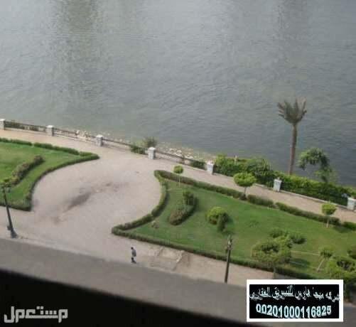 للبيع شقه 350 متر علي النيل  مباشر