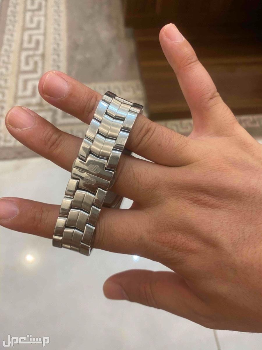 ساعة دايموند هيل ستانلس ستيل الماس