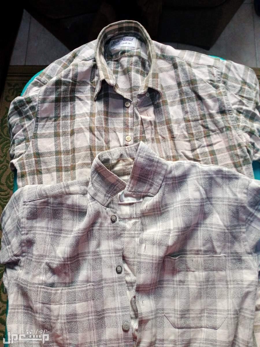 اكتوبر اتنين قميص صوف شتوي تقال جدا الاتنين ب 100 مش بالواحد