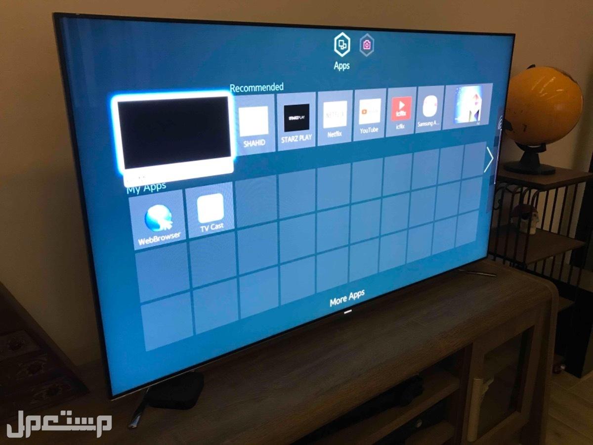 تلفزيون سامسونج 55 بوصه 3D/4K/Smart/wifi