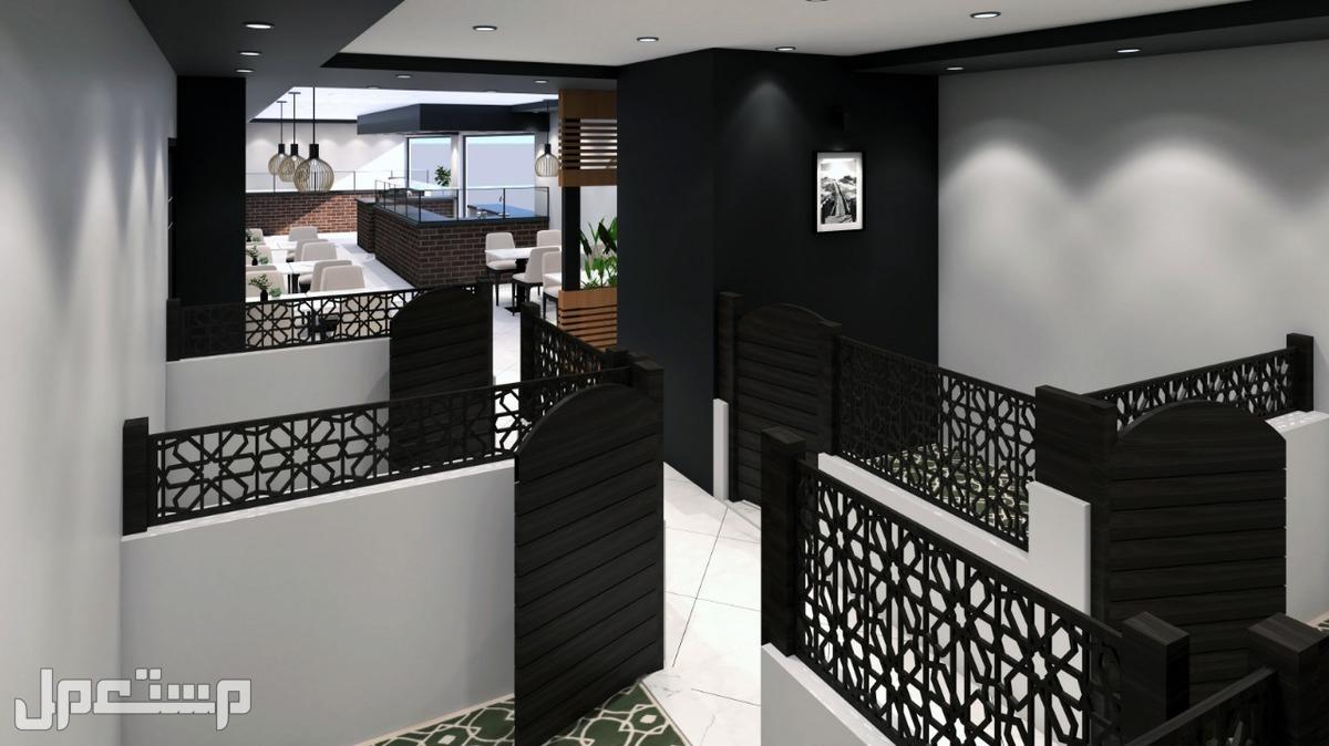 تصميم وتنفيذ المطاعم والكافيهات والمراكز التجارية
