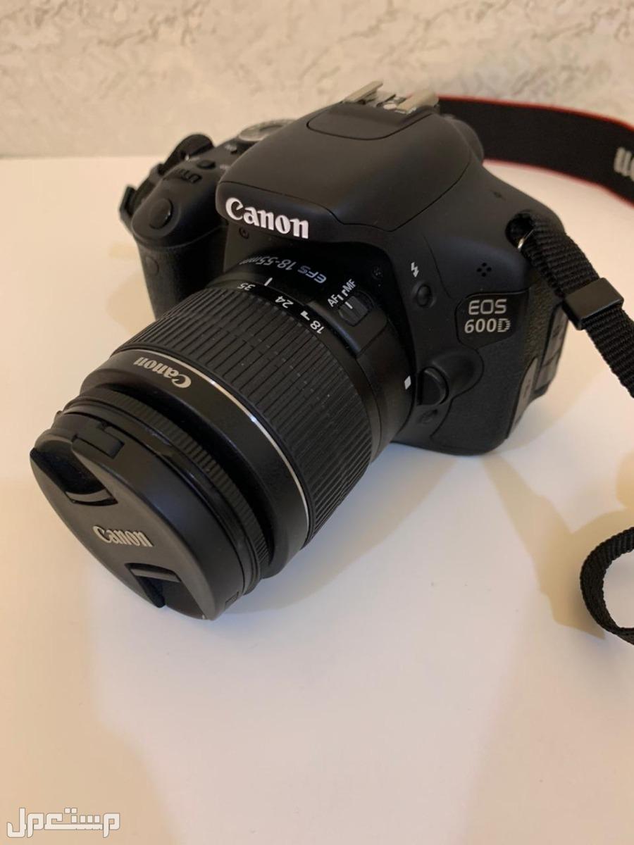 كاميرا canon 600D للبيع