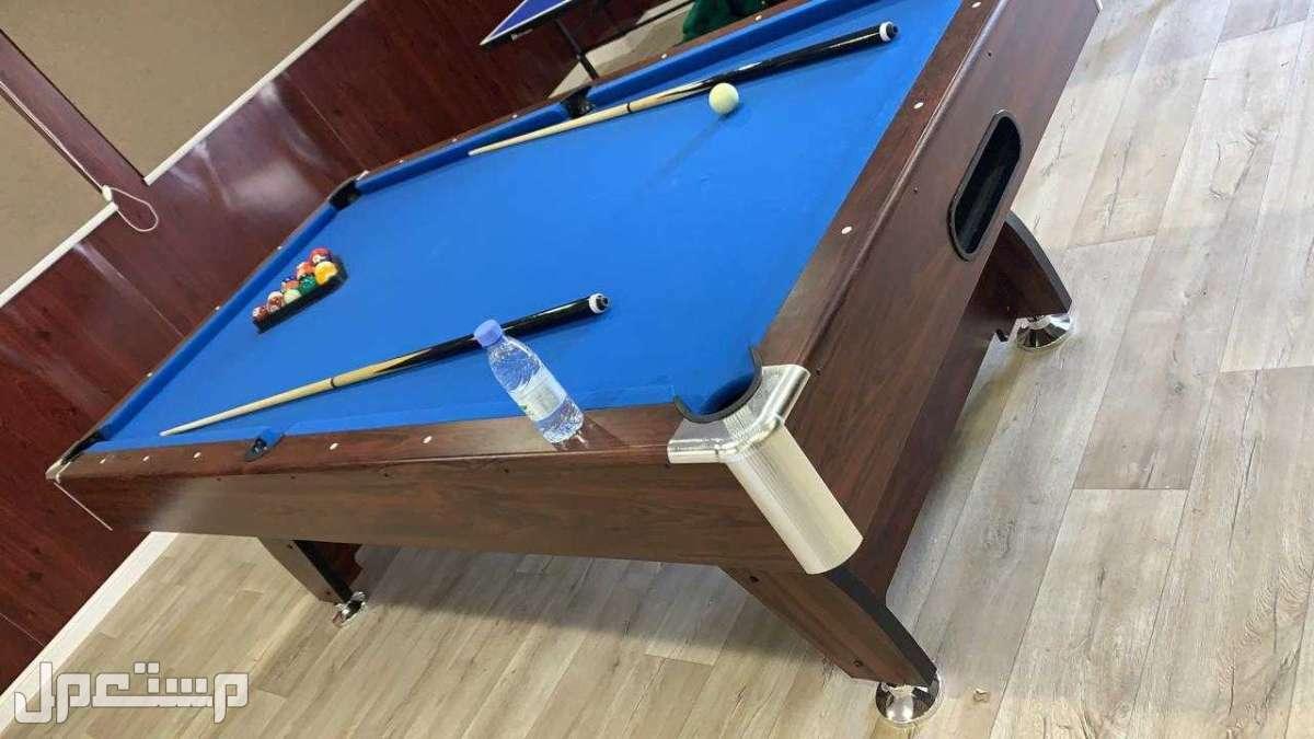 طاولة بلياردو حجم كبير خشب نوعية ممتازة